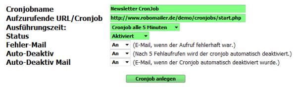 Cronjob-Service 4